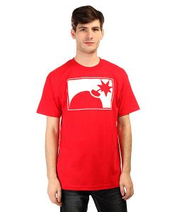 The Hundreds | Футболка Forever Half Bomb T-Shirt Red