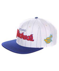 The Hundreds | Бейсболка С Прямым Козырьком World Series Team Snapback White/Blue