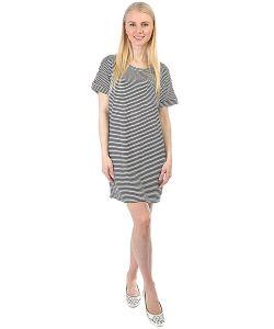 Obey | Платье Right Above Dress Dusty Navy Stripe