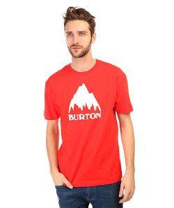 Burton | Футболка Mb Classic Mtn Ss Fiery Red