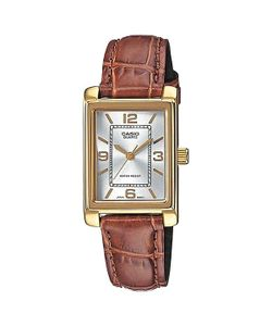 Casio | Часы Collection Mtp-1234pgl-7a Gold/Brown