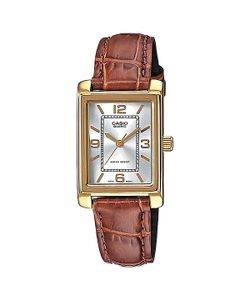 Casio | Часы Collection Ltp-1234pgl-7a Gold/Brown