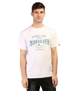 Quiksilver | Футболка Clastegeeclaiit Tees White