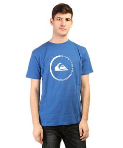 Quiksilver | Футболка Clasactivecheck Tees Turkish Sea