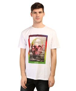 Quiksilver | Футболка Skullyacidss Tees White