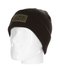 Gnu | Шапка Ash Pocket Beanie Black