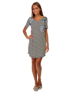Roxy | Платье Женское Nautical J Ktdr Teeny Stripe Eclipse