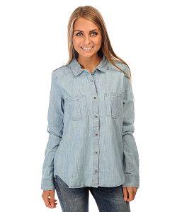 Roxy   Рубашка Женская Camera J Wvtp Light Blue
