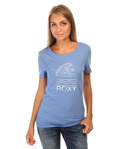 Roxy | Футболка Женская Itty Doty Wave J Tees Morning Sky