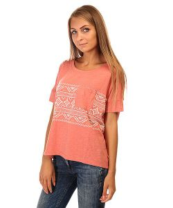 Roxy | Футболка Женская Boxybohoborder J Tees Faded Rose