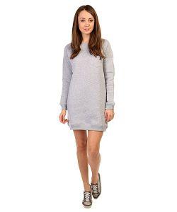 Emblem | Платье Женское Pocket Sleeve Dress Heather Grey