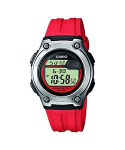 Casio | Электронные Часы Collection W-211-4a Red/Grey