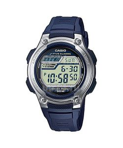 Casio | Электронные Часы Collection W-212h-2a Navy/Grey