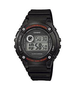 Casio   Электронные Часы Collection W-216h-1a Black