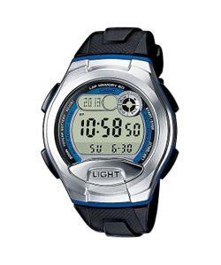 Casio   Электронные Часы Collection W-752-2b Black/Grey