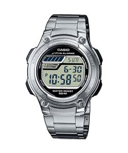 Casio | Электронные Часы Collection W-211d-1a Silver
