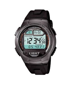 Casio | Электронные Часы Collection W-734-1a Black/Grey