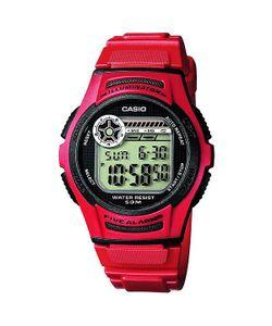 Casio | Электронные Часы Collection W-213-4a Red