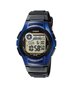 Casio | Электронные Часы Collection W-213-2a Black/Blue