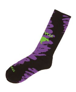 Gnu | Носки Средние Advanced Geo Sock Purple