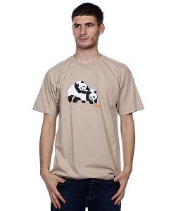 Enjoi | Футболка Piggyback Pandas Camel