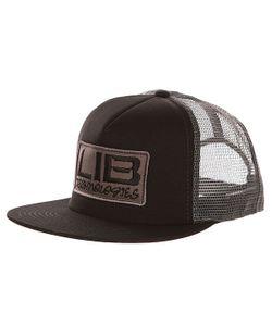 Lib Tech | Бейсболка С Сеткой Full Service Trucker Black