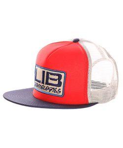 Lib Tech | Бейсболка С Сеткой Full Service Trucker Red