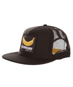 Lib Tech | Бейсболка С Сеткой Banana Trucker Black