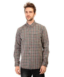 Quiksilver | Рубашка В Клетку Prelock Ls Wvtp Prelock Anthracite