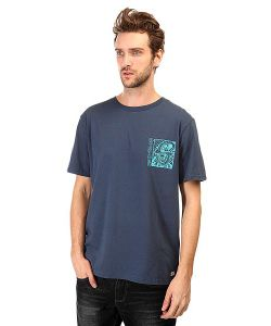 Quiksilver | Футболка Whitelightss Tees Dark Denim