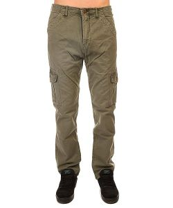 Quiksilver | Штаны Прямые Everyday Cargo Ndpt Dusty Olive