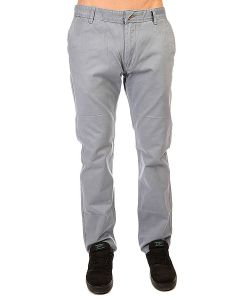 Quiksilver | Штаны Прямые Everyday Chino Ndpt Flint Stone