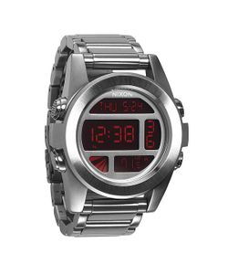 Nixon   Часы Unit Ss Silver/Red