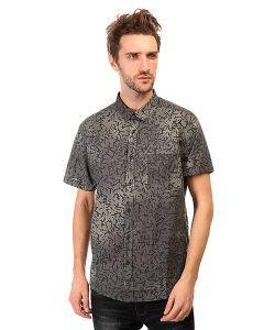 Quiksilver | Рубашка Crackedshirtss Cracked Anthracite