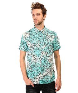 Quiksilver | Рубашка Crackedshirtss Cracked Aruba Blue