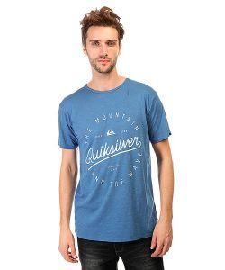 Quiksilver | Футболка Slub Tee Script Tees Federal Blue