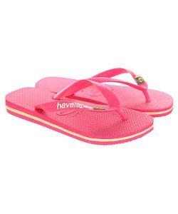 Havaianas | Вьетнамки Brasil Logo Pink