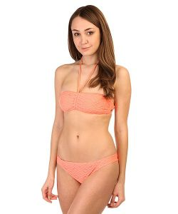 Roxy | Купальник Женский Bandeau/Base Gi Sunkissed Coral