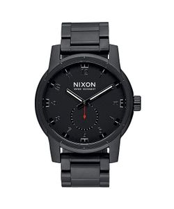 Nixon | Кварцевые Часы Patriot All Black