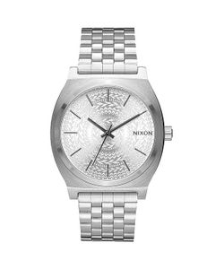 Nixon | Кварцевые Часы Time Teller All Silver/Stamped