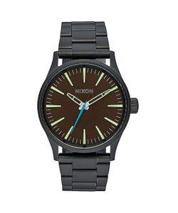 Nixon | Кварцевые Часы Sentry 38 Ss All Black/Brown