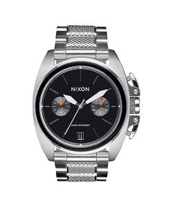 Nixon | Кварцевые Часы Anthem Chrono Silver/Black