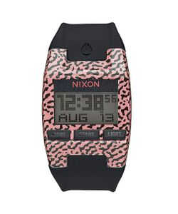Nixon | Электронные Часы Comp S Hot Coral Amoeba