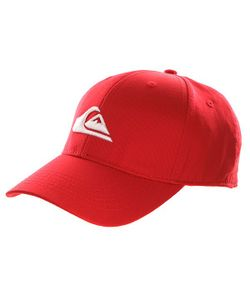 Quiksilver | Бейсболка Классическая Decades Quik Red