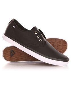 Quiksilver | Кеды Кроссовки Низкие Shorebreak Nylo Shoe Black/White