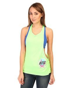 CajuBrasil   Майка Женская Dry Sport T-Shirt Green