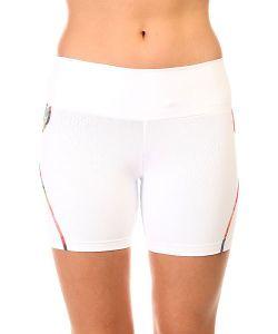 CajuBrasil   Шорты Пляжные Женские New Zealand Shorts White