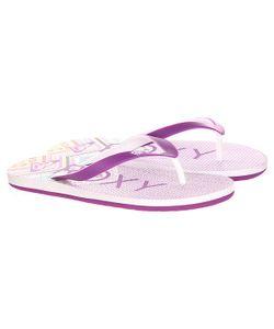 Roxy | Вьетнамки Женские Tahiti V Sndl White/Purple
