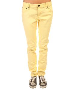Roxy | Джинсы Узкие Женские Suntrippers Col J Pant Golden Haze