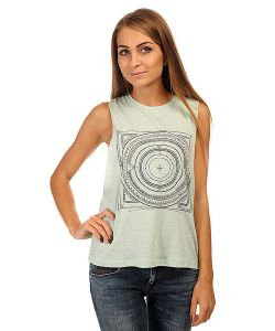 Roxy | Майка Женская Muscletrace J Tees Harbor Gray